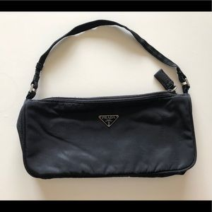 Prada small nylon  shoulder bag